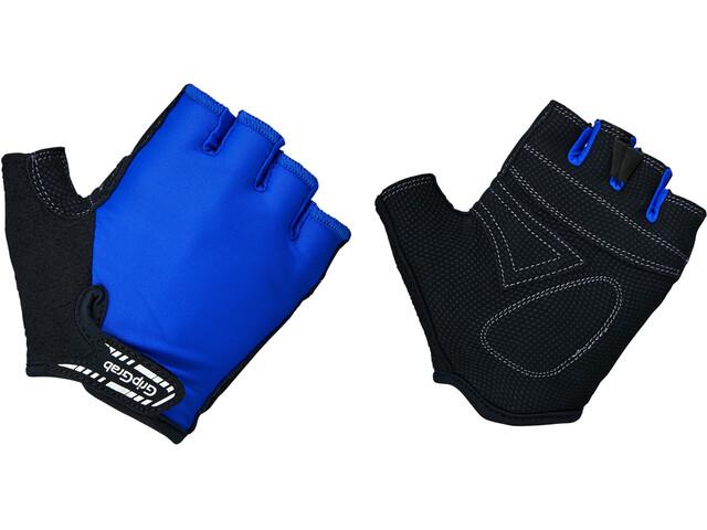 GripGrab X-Trainer Kurzfinger-Handschuhe Kinder blau
